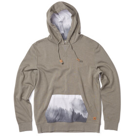 tentree Renfrew Hoodie Men vetiver green/foggy mountain black